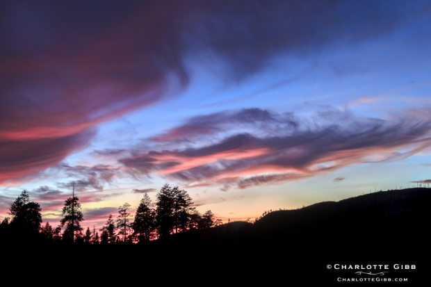Sunset Clouds Feb 2014